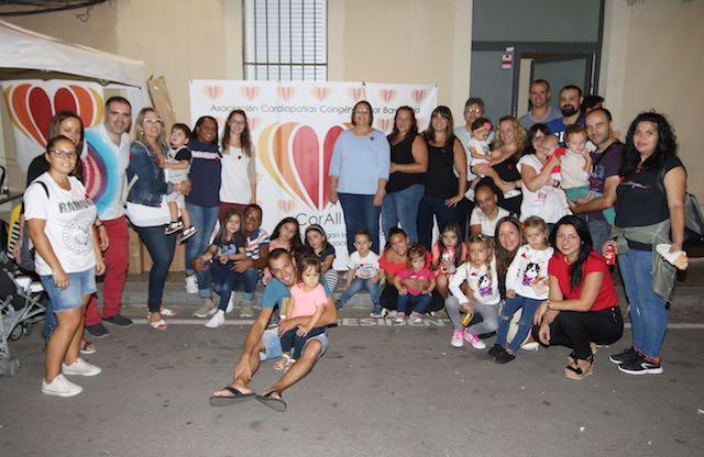 La asociación de cardiopatías Congénitas Cor Barcelona en las fiestas de la Barceloneta
