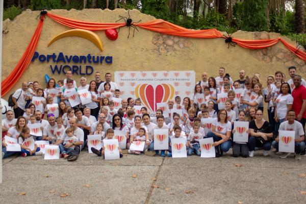 La asociación de cardiopatías Congénitas Cor Barcelona en Port Aventura